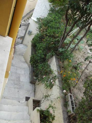The stairs leading up to my host home in Nice.